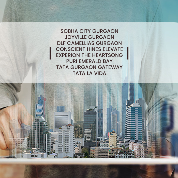 GURGAON HOLDS THE LARGEST RANGE OF RESIDENTIAL PROJECTS