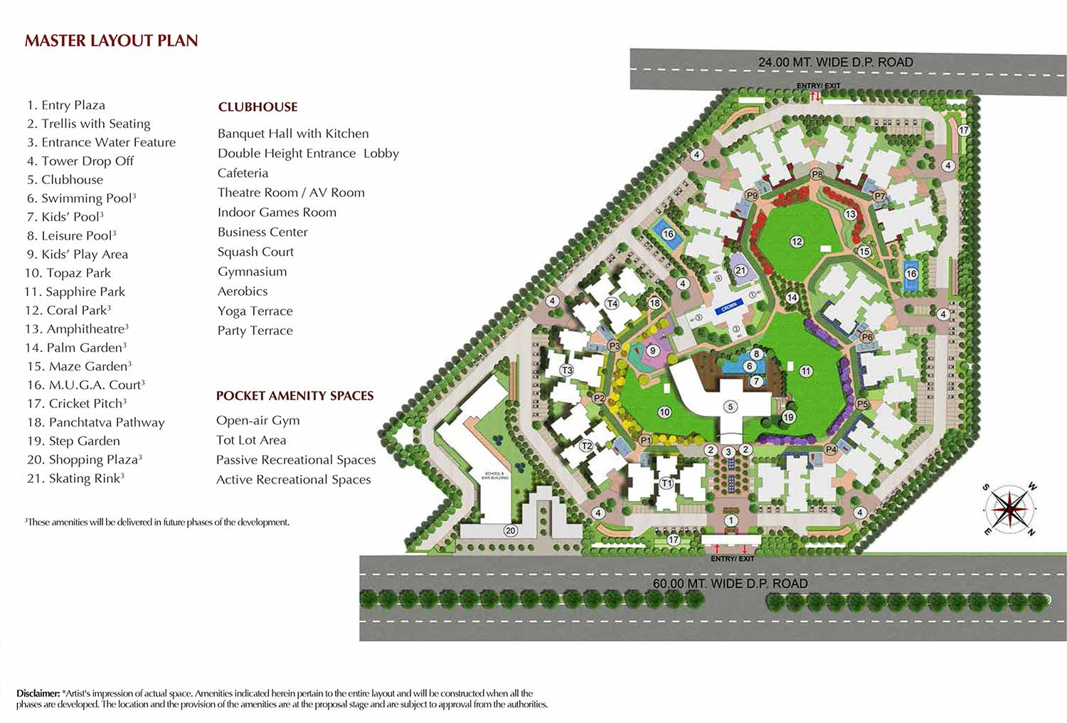 Master Plan - joyville Gurgaon Phase 2
