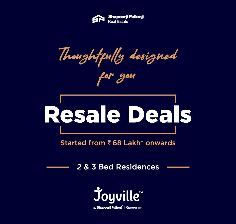 Joyville Gurgaon Resale
